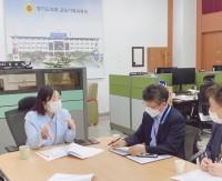 200916 정윤경 의원, 도교육청과 외국어교육 및 문화예술교육 주요현안 협의.jpg